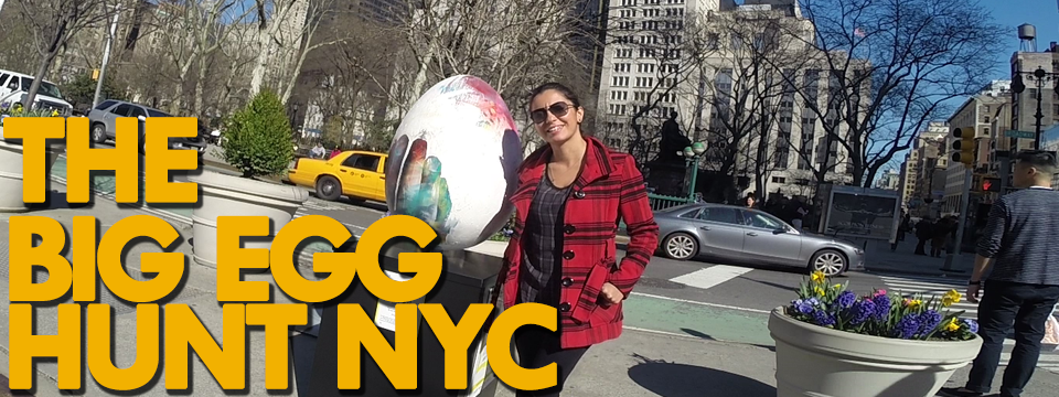 the BIG egg hunt NEW YORK!