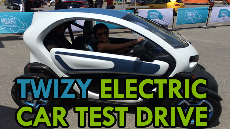 Electric Car Test Drive Twizy Youtube