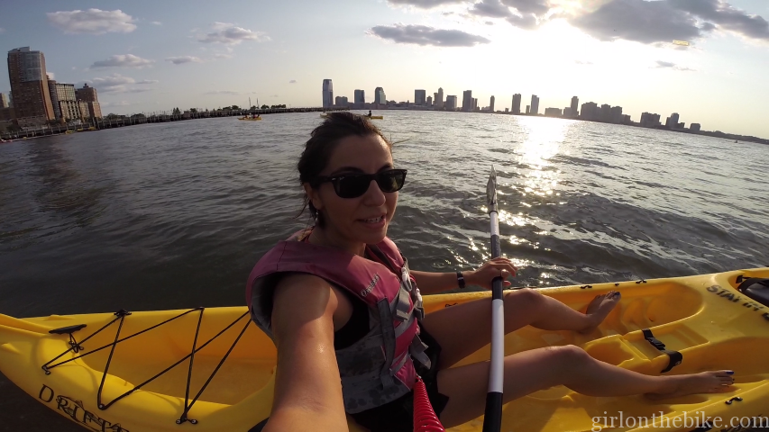 Free Kayaking in New York Hudson River