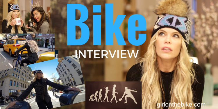 Bike Interview #BikeWithNesli Episode 2 with @AmberMeetsWorld