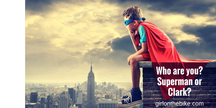 Who are you: Superman or Clark Kent?