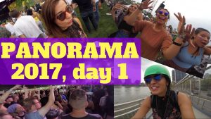 Panorama 2017, girl on the bike, panorama on bike, panorama music festival