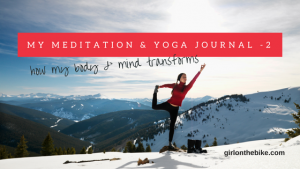 My Meditation and yoga journal, Meditation New York, Yoga New York