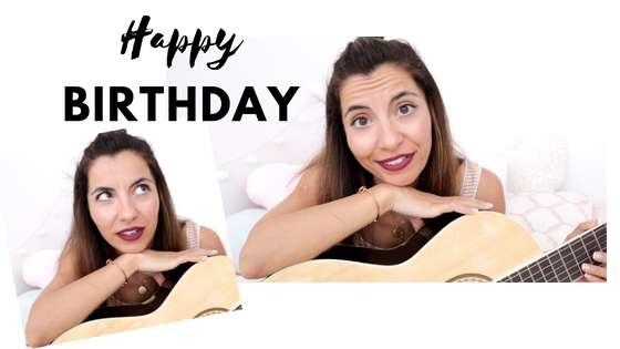 Birthday Thoughts & Songs