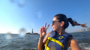 Jet ski manhattan, jetski manhattan, jetskiing manhattan, where to jetski in new york, new york jet ski, jet ski new york, jetski new york, girl on the bike