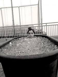 Ice bath nyc, Wim Hof ice bath, wim hof breathing, wim hof nyc, girl on the bike 9