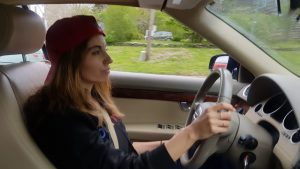 New York to Maine Road Trip, Girl On The Bike