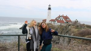 New York to Maine Road Trip, Girl On The Bike, Maine Road Trip13