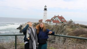 New York to Maine Road Trip, Girl On The Bike, Maine Road Trip14