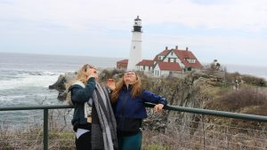 New York to Maine Road Trip, Girl On The Bike, Maine Road Trip15