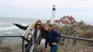 New York to Maine Road Trip, Girl On The Bike, Maine Road Trip19
