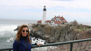 New York to Maine Road Trip, Girl On The Bike, Maine Road Trip23