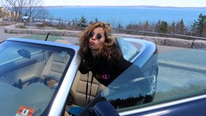 New York to Maine Road Trip, Girl On The Bike, Maine Road Trip7