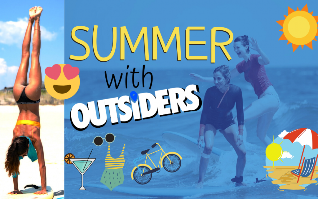 Summer in NYC With Outsiders, Surfing, Biking, Tubing NYC, Girl On The Bike